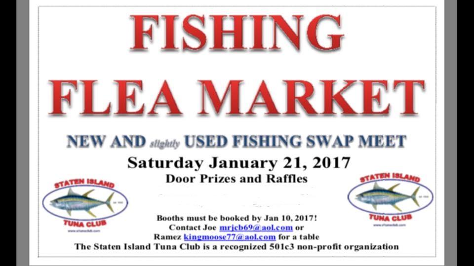 Staten island tuna club for Fishing flea market near me